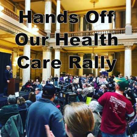 Healthcare Rally Widget